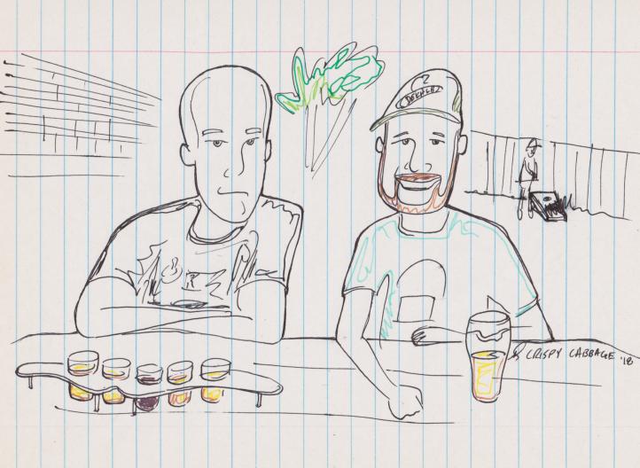 Steve and Carl