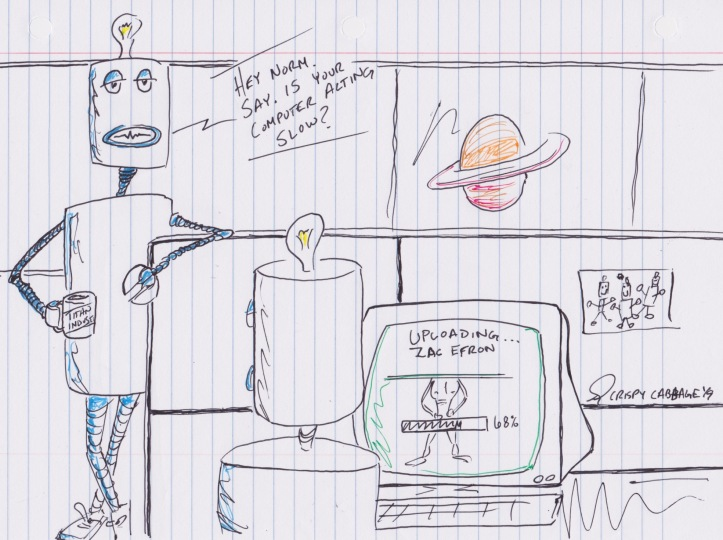 Robots on Titan
